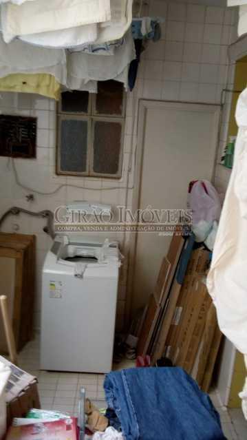 17 ÁREA DE SERVIÇO - Apartamento À Venda - Copacabana - Rio de Janeiro - RJ - GIAP30864 - 18