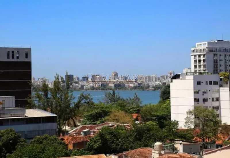 3 - Excelente Cobertura Duplex com Duas salas,6 Qtos, Terraço e 2 Vagas. Em ponto nobre do Jardim Botânico. Vista parcial Lagoa. - GICO60004 - 4