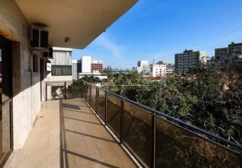 14 - Excelente Cobertura Duplex com Duas salas,6 Qtos, Terraço e 2 Vagas. Em ponto nobre do Jardim Botânico. Vista parcial Lagoa. - GICO60004 - 7
