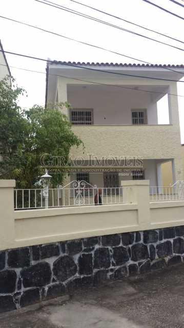 1 fachada - Casa Comercial À Venda - Campo Grande - Rio de Janeiro - RJ - GICC50001 - 1