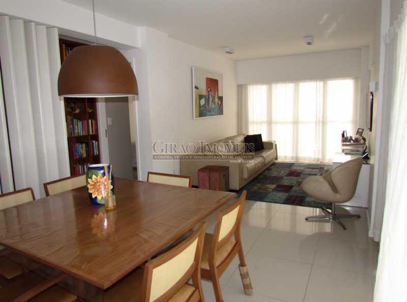 1. - Apartamento Rua Artur Araripe,Gávea, Rio de Janeiro, RJ À Venda, 3 Quartos, 120m² - GIAP30894 - 1