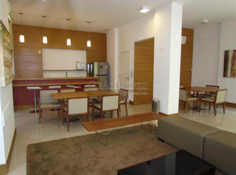 1a. - Apartamento Rua Artur Araripe,Gávea, Rio de Janeiro, RJ À Venda, 3 Quartos, 120m² - GIAP30894 - 3