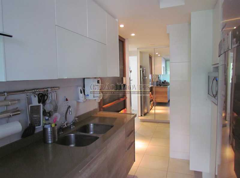 14. - Apartamento Rua Artur Araripe,Gávea, Rio de Janeiro, RJ À Venda, 3 Quartos, 120m² - GIAP30894 - 12