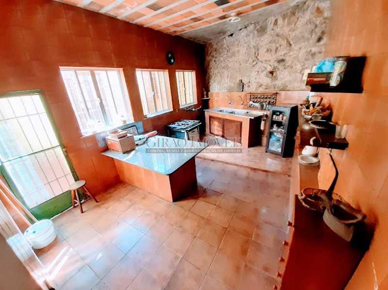 COZINHA COM 18M² - Casarão em Santa Teresa. ótima para morar ou investir como Hostel, pousada ou eventos. - GICA50005 - 13