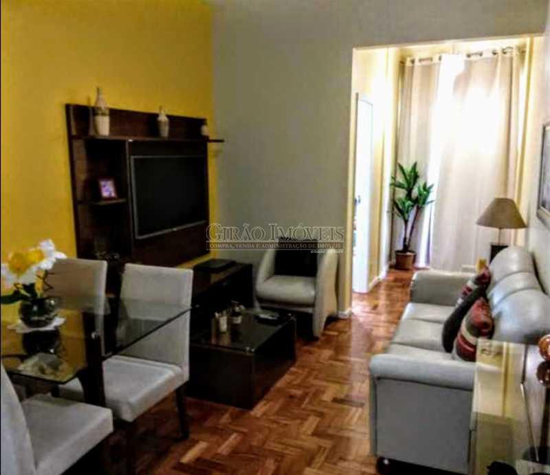 1 - Apto reformadíssimo. Andar alto,Sala dois ambientes,2 quartos,dependência completa - GIAP20775 - 4