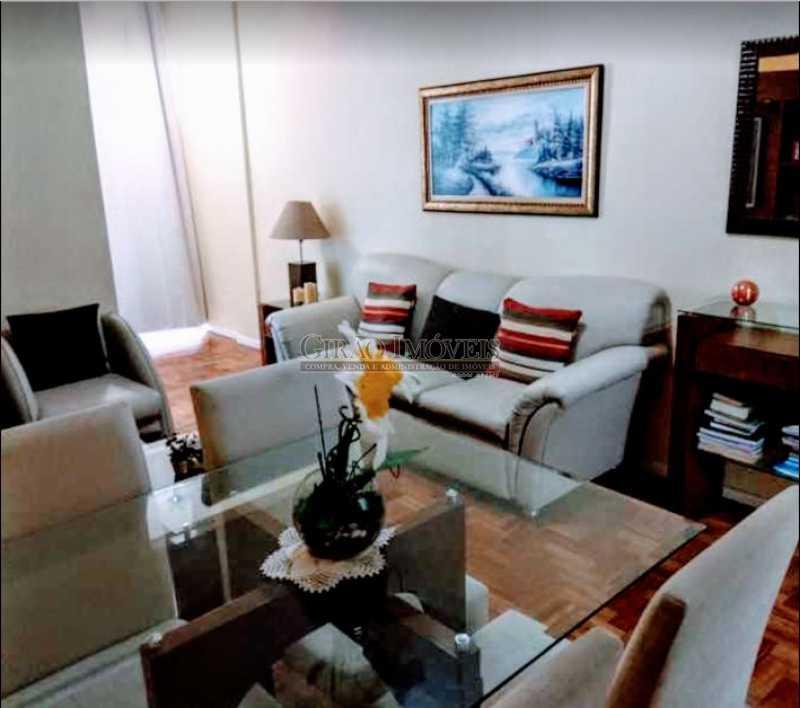 2 - Apto reformadíssimo. Andar alto,Sala dois ambientes,2 quartos,dependência completa - GIAP20775 - 3