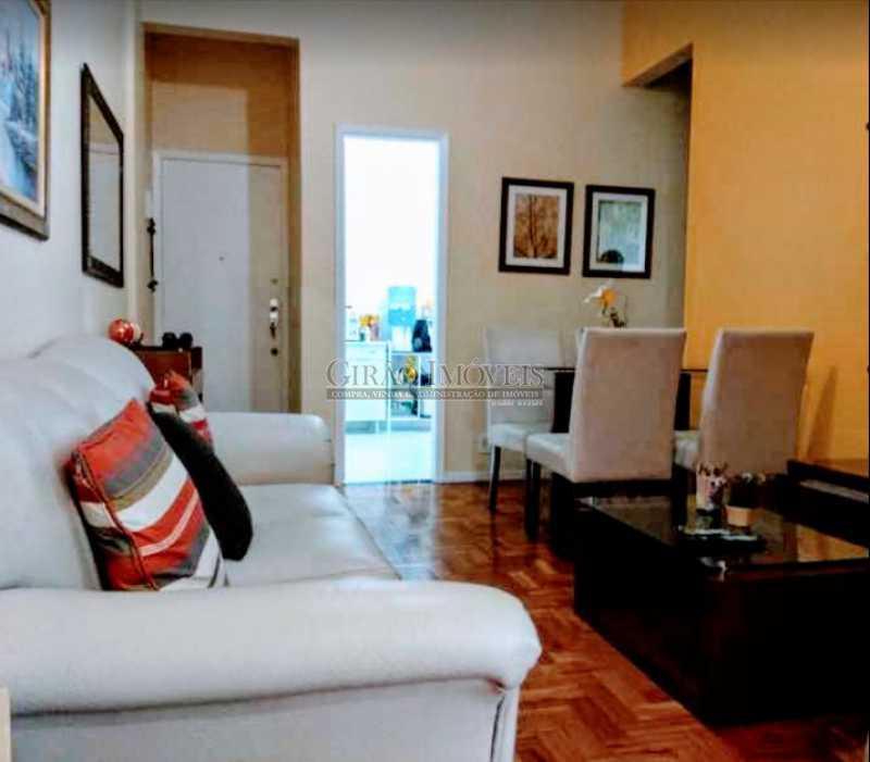 4 - Apto reformadíssimo. Andar alto,Sala dois ambientes,2 quartos,dependência completa - GIAP20775 - 1