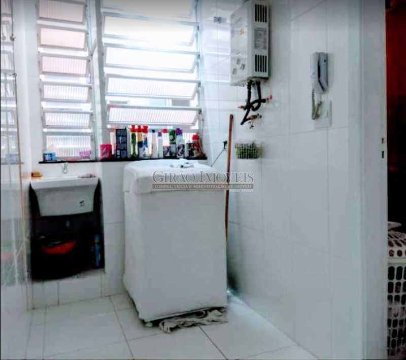 15 - Apto reformadíssimo. Andar alto,Sala dois ambientes,2 quartos,dependência completa - GIAP20775 - 20