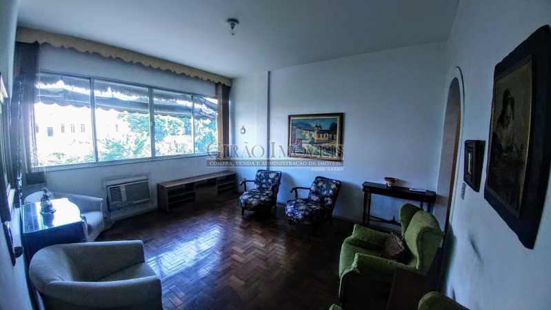 20180630_114717 - Apartamento Vazio de andar alto e vistão verde. Sala intima e estar.3 Quartos, lavabo, Bn social e dependência completa - GIAP30914 - 3