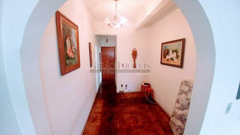 HALL DE ENTRADA - Apartamento Vazio de andar alto e vistão verde. Sala intima e estar.3 Quartos, lavabo, Bn social e dependência completa - GIAP30914 - 6