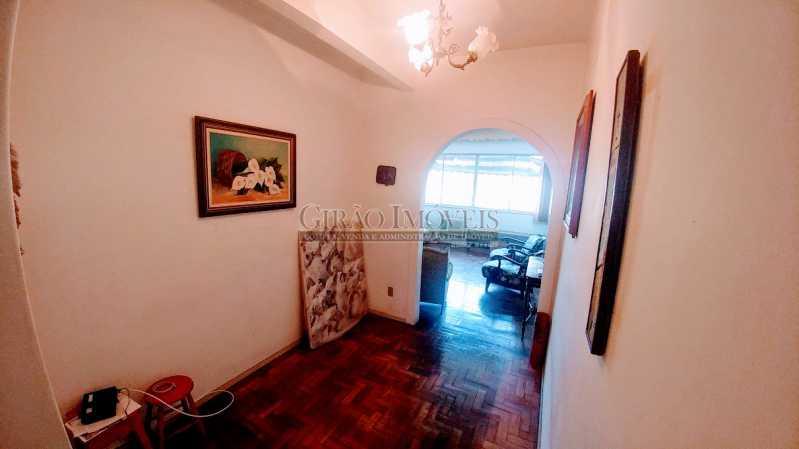 HALL DE ENTRADA - Apartamento Vazio de andar alto e vistão verde. Sala intima e estar.3 Quartos, lavabo, Bn social e dependência completa - GIAP30914 - 7