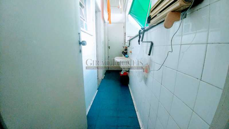 20180630_115231 - Apartamento Vazio de andar alto e vistão verde. Sala intima e estar.3 Quartos, lavabo, Bn social e dependência completa - GIAP30914 - 17