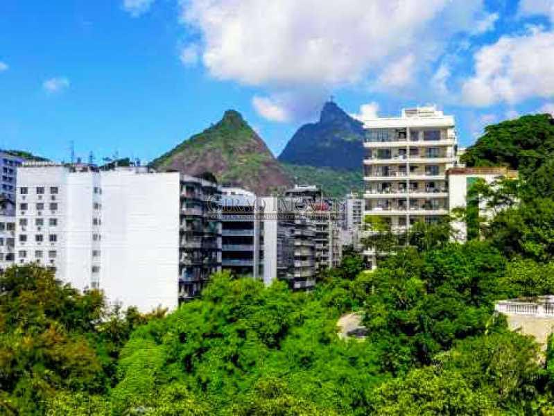 VISTA - Apartamento Vazio de andar alto e vistão verde. Sala intima e estar.3 Quartos, lavabo, Bn social e dependência completa - GIAP30914 - 1