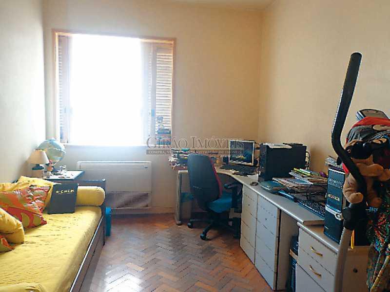 9 - Quarto 3º - Apartamento À Venda - Copacabana - Rio de Janeiro - RJ - GIAP30919 - 10