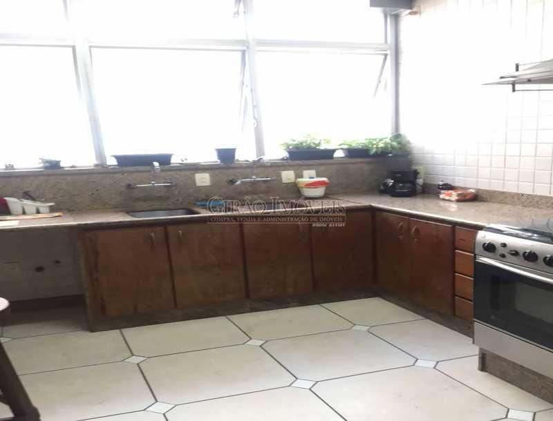 22 - Copa-cozinha - paisagem - Apartamento À Venda - Copacabana - Rio de Janeiro - RJ - GIAP30919 - 24