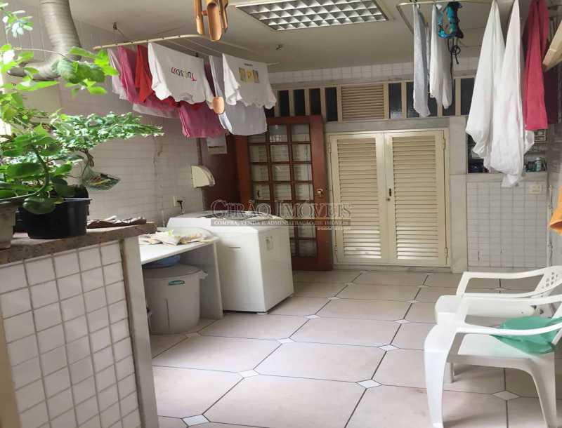 28 - Área serviço, Lavanderi - Apartamento À Venda - Copacabana - Rio de Janeiro - RJ - GIAP30919 - 28