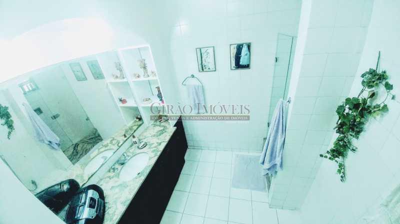 banheiro social 1 - Cobertura À Venda - Ipanema - Rio de Janeiro - RJ - GICO30070 - 13