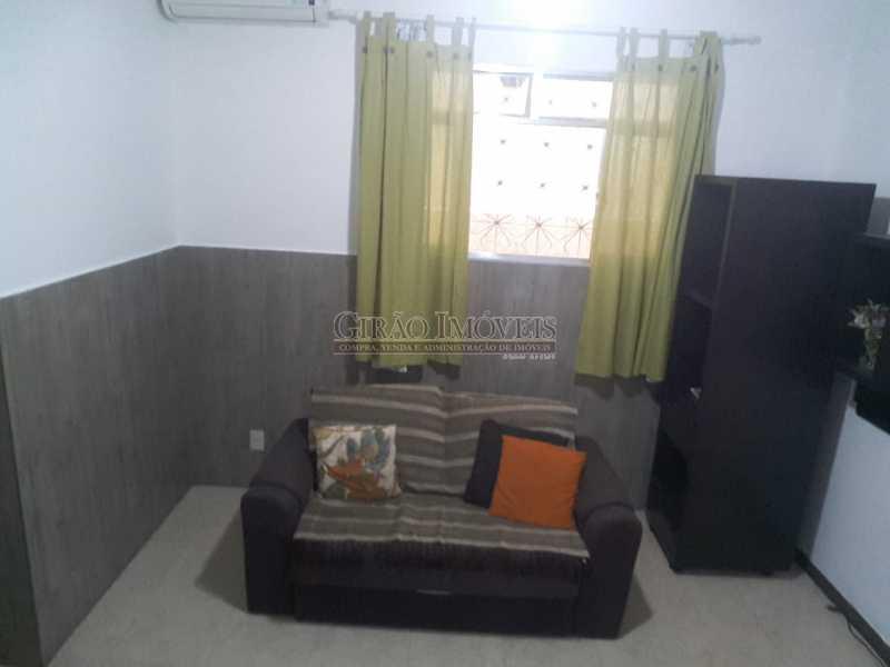9 - Ótima localização, quarto sala mobiliado, alto luxo, com split, armários, próximo a praia, comércio no entorno. Vanha conferir - GIAP10459 - 10