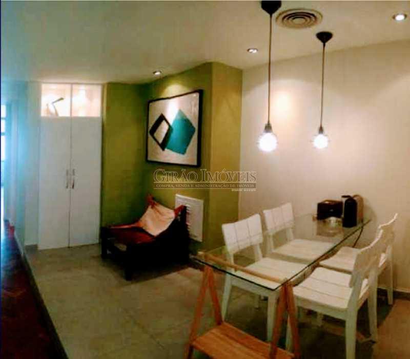 Banheiro. - Ótima sala comercial, reformada, andar alto e dividida em dois ambientes - GISL00074 - 1