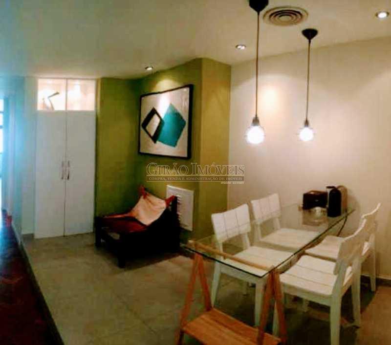 Cozinha Americana. - Ótima sala comercial, reformada, andar alto e dividida em dois ambientes - GISL00074 - 6