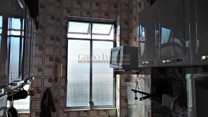 cozinha - Apartamento à venda Rua Benjamim Constant,Glória, Rio de Janeiro - R$ 460.000 - GIAP00045 - 13