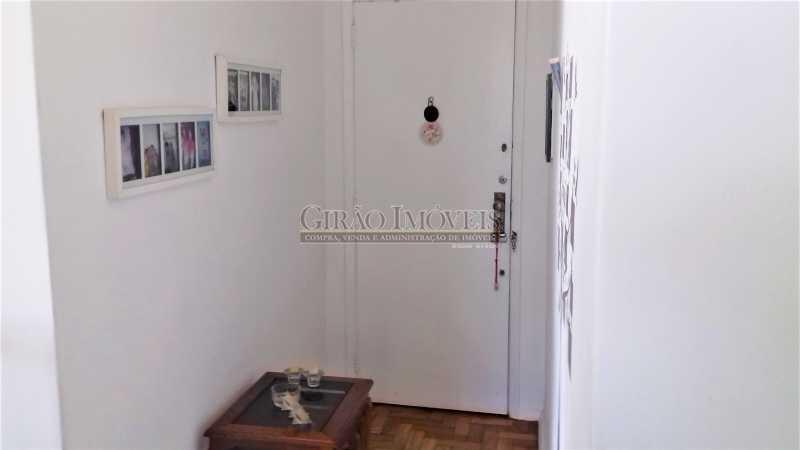 entrada - Apartamento à venda Rua Benjamim Constant,Glória, Rio de Janeiro - R$ 460.000 - GIAP00045 - 1