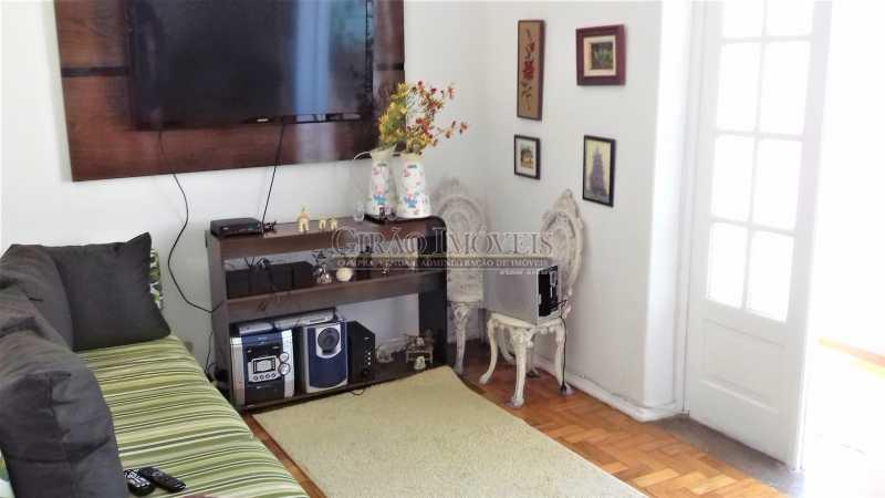 sala plano 1 - Apartamento à venda Rua Benjamim Constant,Glória, Rio de Janeiro - R$ 460.000 - GIAP00045 - 3