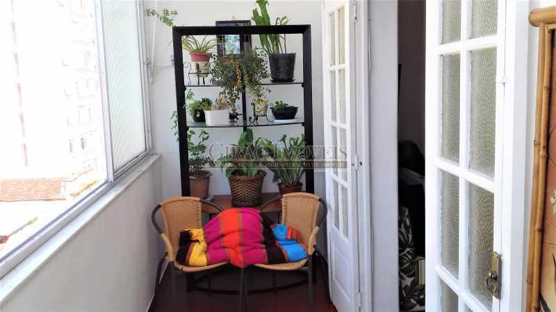 varanda - Apartamento à venda Rua Benjamim Constant,Glória, Rio de Janeiro - R$ 460.000 - GIAP00045 - 8
