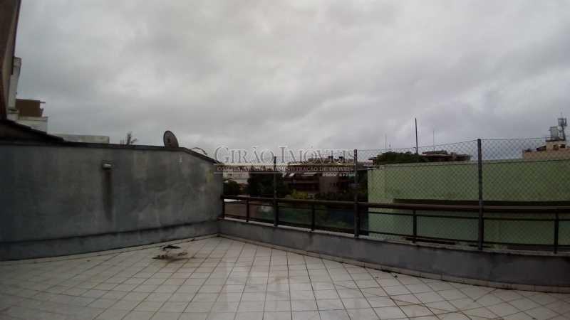 1 - Cobertura à venda Rua Desembargador Paulo Alonso,Recreio dos Bandeirantes, Rio de Janeiro - R$ 650.000 - GICO20025 - 8