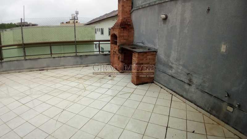 2 - Cobertura à venda Rua Desembargador Paulo Alonso,Recreio dos Bandeirantes, Rio de Janeiro - R$ 650.000 - GICO20025 - 7