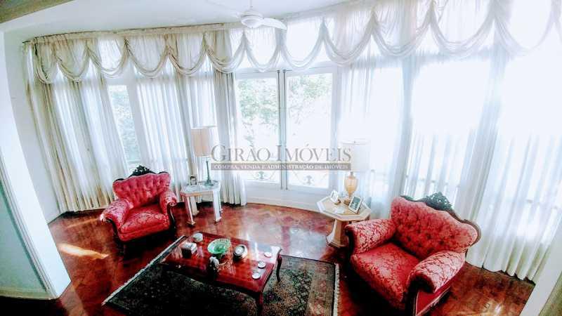 Living - Apartamento 3 quartos à venda Flamengo, Rio de Janeiro - R$ 2.200.000 - GIAP31000 - 1