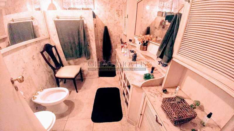 Banheiro suite - Apartamento 3 quartos à venda Flamengo, Rio de Janeiro - R$ 2.200.000 - GIAP31000 - 13