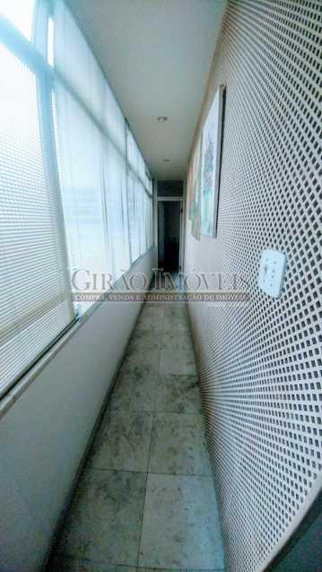 corredor lateral - Apartamento 3 quartos à venda Flamengo, Rio de Janeiro - R$ 2.200.000 - GIAP31000 - 16