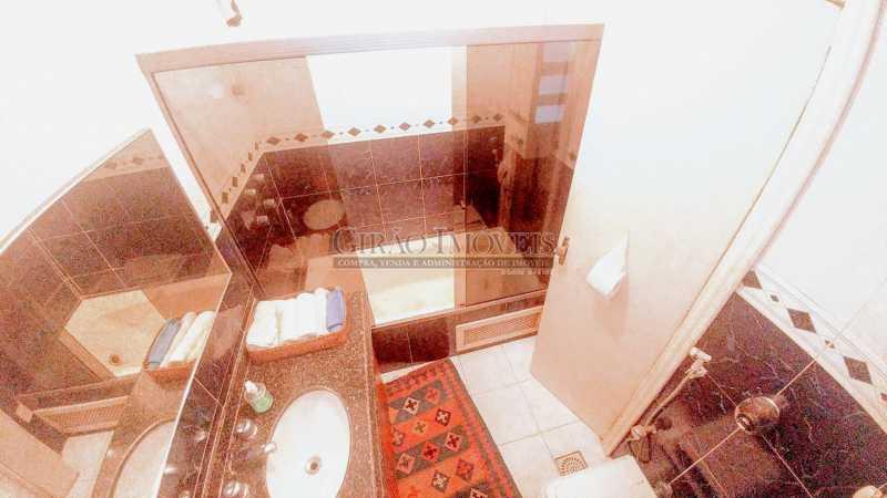 banheiro social 2 - Apartamento 3 quartos à venda Flamengo, Rio de Janeiro - R$ 2.200.000 - GIAP31000 - 19