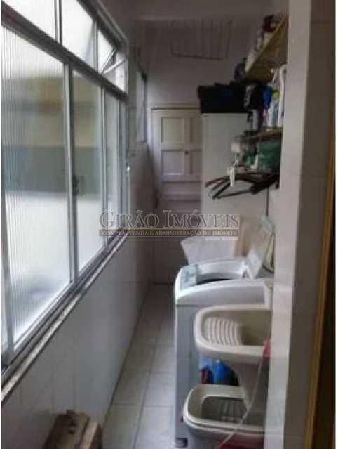 ÁREA - Apartamento 3 quartos à venda Humaitá, Rio de Janeiro - R$ 850.000 - GIAP31075 - 17