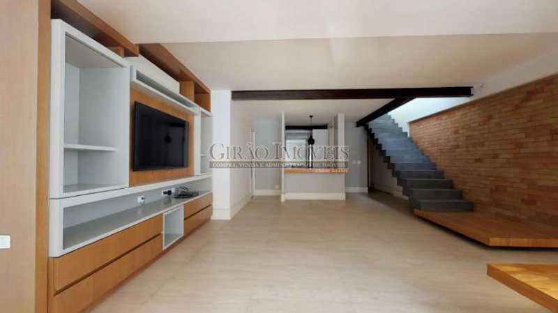 1d799f4e110d8b3de4c78dd48025cc - Maravilhosa cobertura Duplex, em prédio novo e reservado de excelente apresentação. Toda decorada por arquiteto, tendo 3 suite e 3 vagas escrituradas - GICO30078 - 4