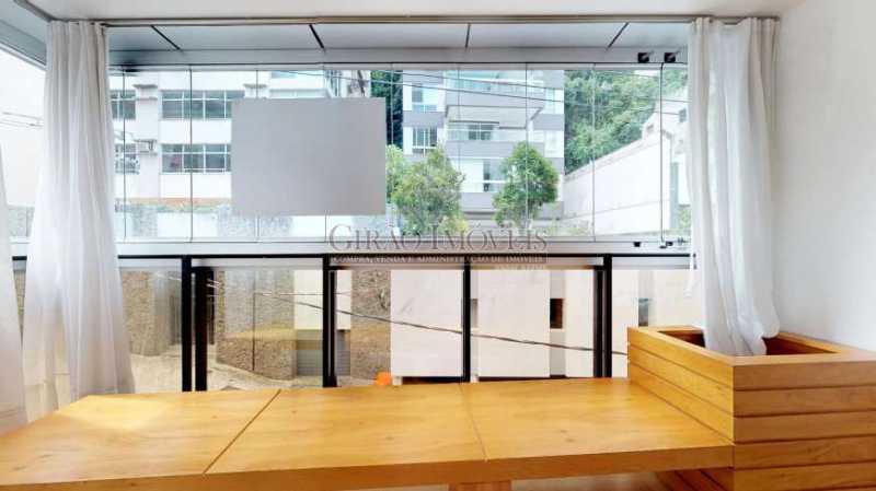 VARANDA SALA1 - Maravilhosa cobertura Duplex, em prédio novo e reservado de excelente apresentação. Toda decorada por arquiteto, tendo 3 suite e 3 vagas escrituradas - GICO30078 - 6