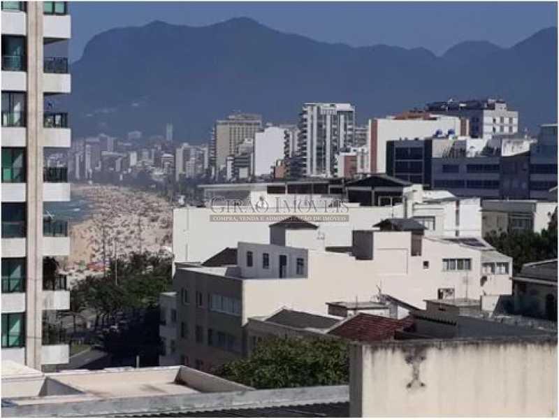 VISTA SALA 1 - Cobertura 2 quartos à venda Ipanema, Rio de Janeiro - R$ 2.500.000 - GICO20029 - 15