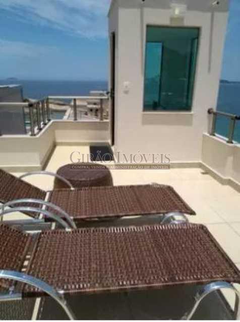 TERRAÇO - Cobertura 2 quartos à venda Ipanema, Rio de Janeiro - R$ 2.500.000 - GICO20029 - 1