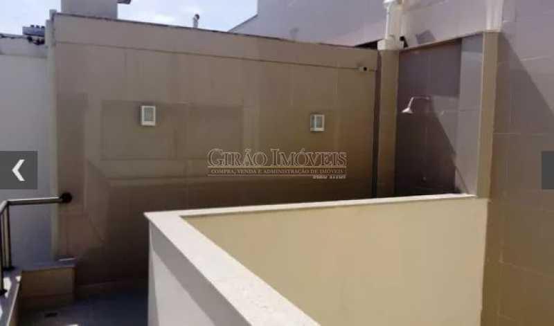 TERRAÇO, - Cobertura 2 quartos à venda Ipanema, Rio de Janeiro - R$ 2.500.000 - GICO20029 - 19
