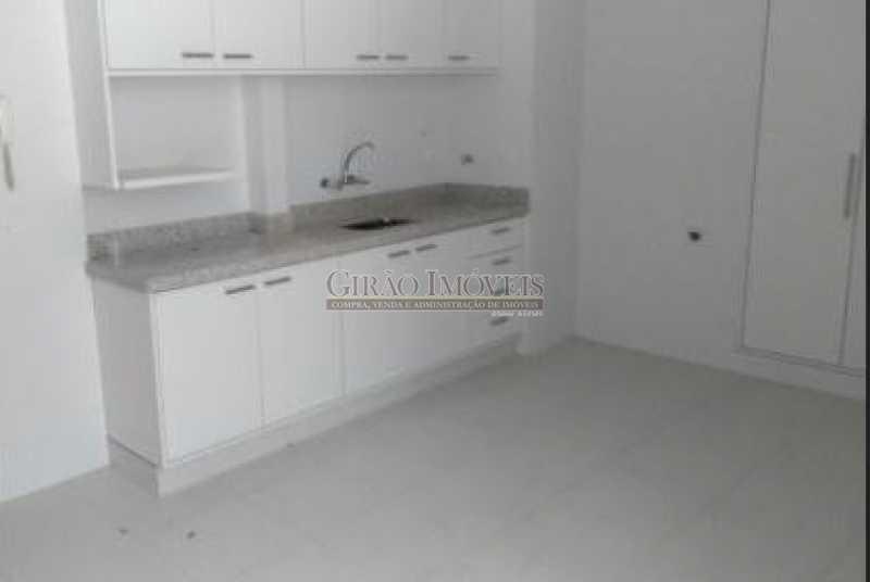 COZINHA - Ótimo apartamento no coração de Laranjeiras. Salão,três quartos sendo um suite, dependência completa.1 vaga escriturada - GIAP31119 - 15