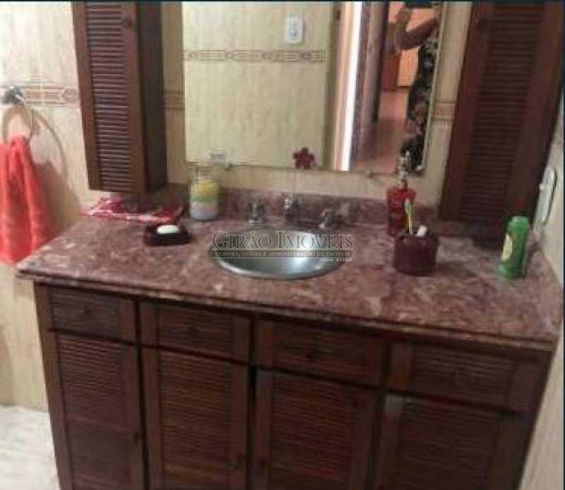 banheiro social - Apartamento À Venda - Copacabana - Rio de Janeiro - RJ - GIAP21006 - 12