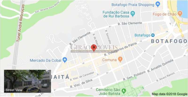 map - Apartamento 2 quartos à venda Botafogo, Rio de Janeiro - R$ 950.000 - GIAP21046 - 21