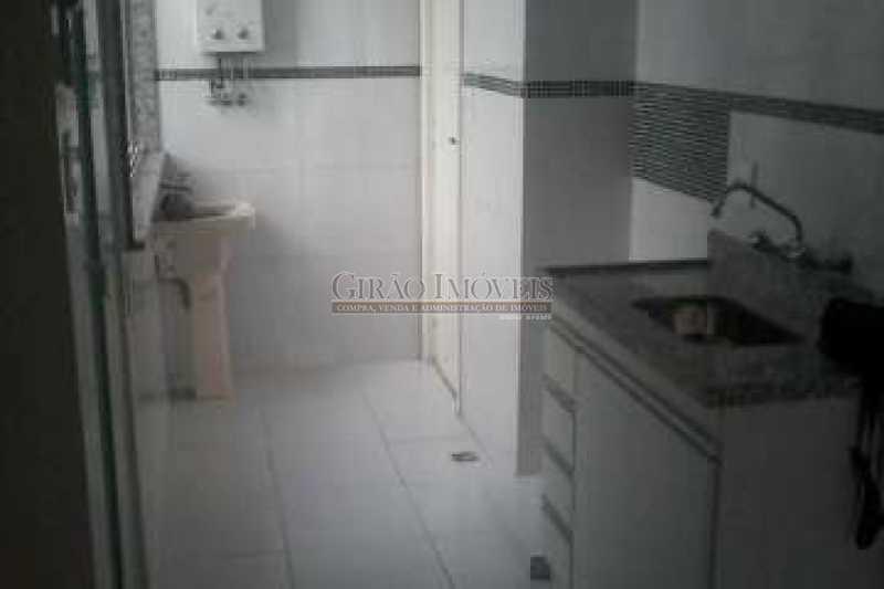 COZINHA E ÁREA - Apartamento 2 quartos à venda Botafogo, Rio de Janeiro - R$ 750.000 - GIAP21050 - 16