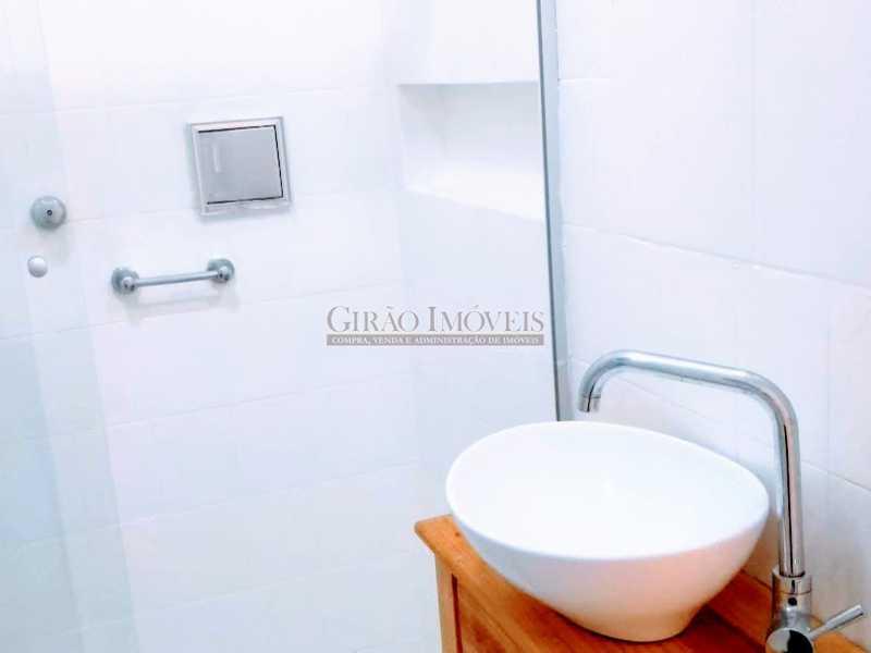 banheiro social - Apartamento 2 quartos à venda Ipanema, Rio de Janeiro - R$ 1.000.000 - GIAP21072 - 12