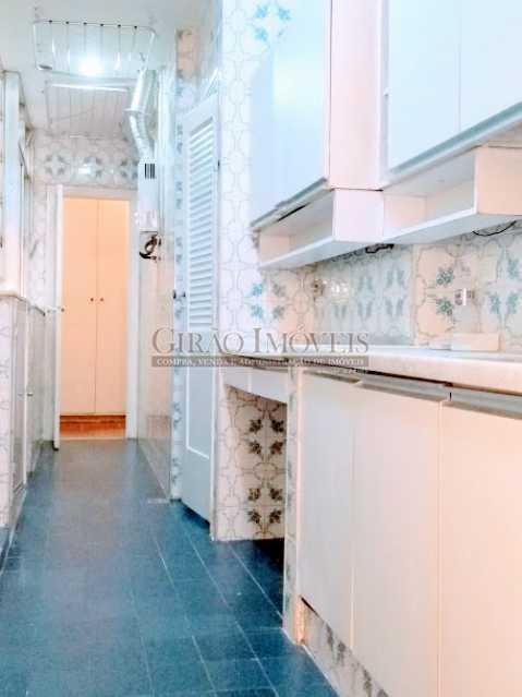 cozinha - Apartamento 2 quartos à venda Ipanema, Rio de Janeiro - R$ 1.000.000 - GIAP21072 - 16