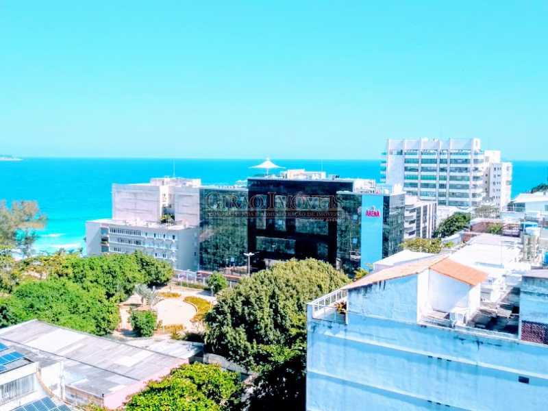 Terraço, área comum - Apartamento 2 quartos à venda Ipanema, Rio de Janeiro - R$ 1.000.000 - GIAP21072 - 22