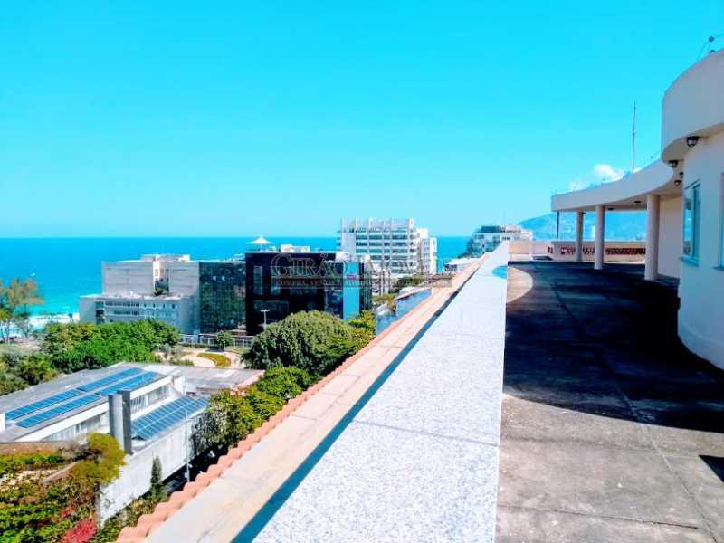 Terraço, área comum  - Apartamento 2 quartos à venda Ipanema, Rio de Janeiro - R$ 1.000.000 - GIAP21072 - 21