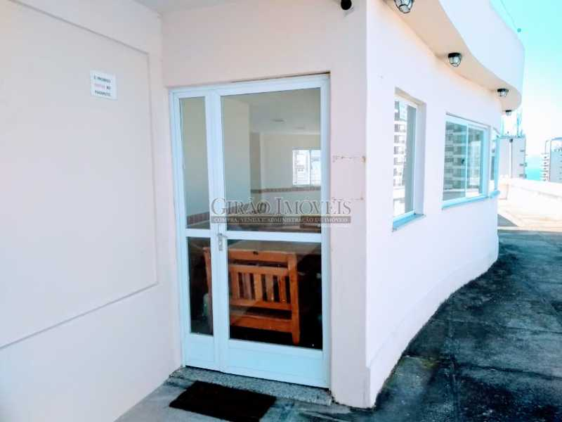 salão de festas  - Apartamento 2 quartos à venda Ipanema, Rio de Janeiro - R$ 1.000.000 - GIAP21072 - 23