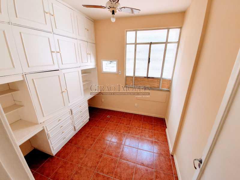 quarto 1 - Apartamento 2 quartos à venda Ipanema, Rio de Janeiro - R$ 1.000.000 - GIAP21072 - 25
